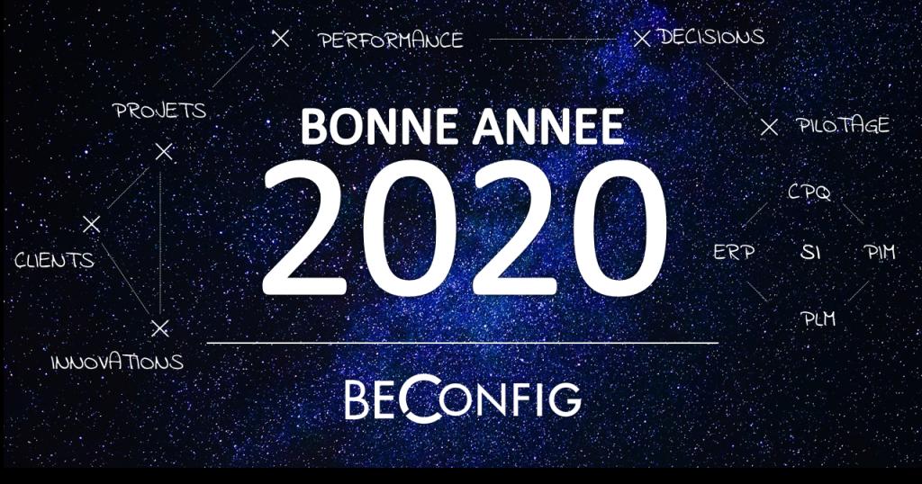 BECONFIG vous souhaite une bonne année 2020